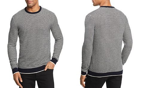 The Men's Store at Bloomingdale's Striped Crewneck Sweater - 100% Exclusive_2