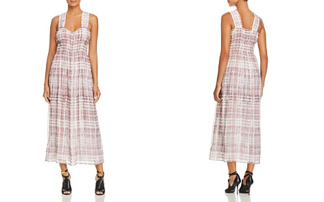 Burberry Delilah Silk Plaid Maxi Dress - Bloomingdale's_2