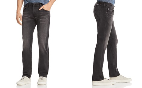 AG Matchbox Slim Fit Jeans in Smudged Black - Bloomingdale's_2