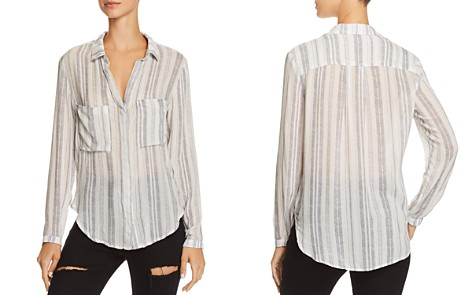 Bella Dahl Hipster Striped Button-Down Shirt - Bloomingdale's_2