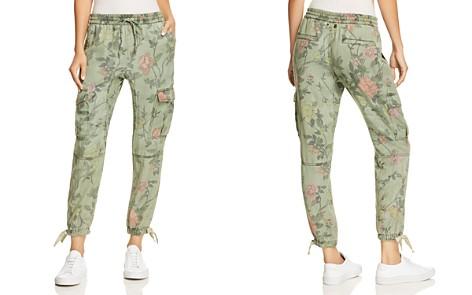 PAM & GELA Floral Print Cargo Pants - Bloomingdale's_2