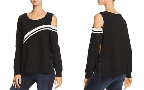 PAM & GELA Cutout Side-Tie Sweatshirt - Bloomingdale's_2