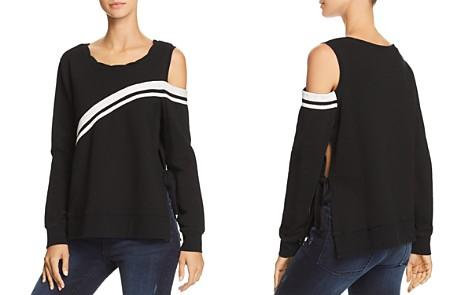 PAM & GELA Cutout Side-Tie Sweatshirt - Bloomingdale's_2