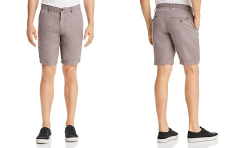 BOSS Crigan Linen Shorts - Bloomingdale's_2