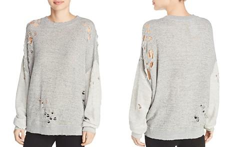 IRO.JEANS Utropy Distressed Sweatshirt - Bloomingdale's_2