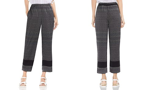 VINCE CAMUTO Diamond Geo Stripe Straight Ankle Pants - Bloomingdale's_2