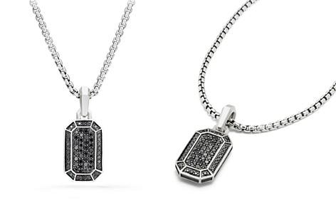 David Yurman Streamline Pavé Amulet with Black Diamonds - Bloomingdale's_2