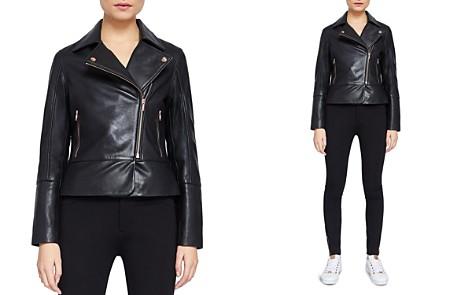 Ted Baker Lizia Leather Biker Jacket - Bloomingdale's_2