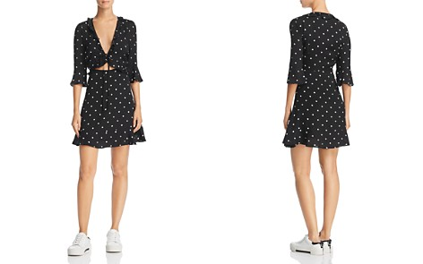 For Love & Lemons Luciana Polka-Dot Dress - 100% Exclusive - Bloomingdale's_2