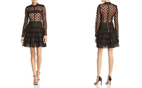 BRONX AND BANCO Isabella Illusion Dress - Bloomingdale's_2