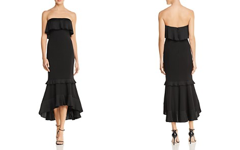 Aidan Mattox Strapless High/Low Dress - Bloomingdale's_2