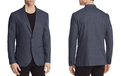 John Varvatos Collection Heathered Slim Fit Blazer - Bloomingdale's_2