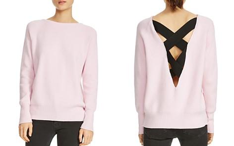 Maje Moon Crisscross-Back Sweater - Bloomingdale's_2