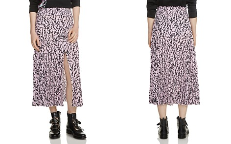 Maje Javina Printed Skirt - Bloomingdale's_2