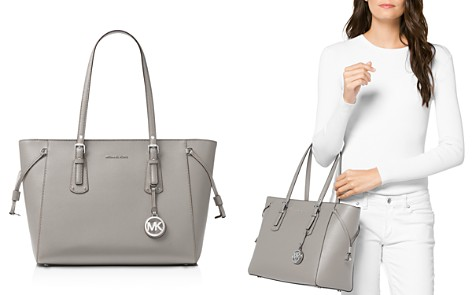 MICHAEL Michael Kors Voyager Multi-Function Top Zip Medium Leather Tote - Bloomingdale's_2
