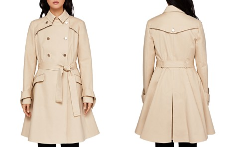 Ted Baker Marrian Flared Trench Coat - Bloomingdale's_2