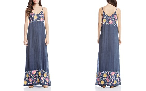 Karen Kane Floral Embroidered Maxi Dress - Bloomingdale's_2
