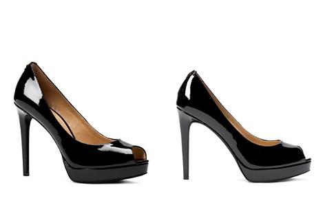 MICHAEL Michael Kors Women's Erika Platform Peep Toe Pumps - Bloomingdale's_2