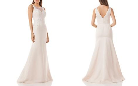 Carmen Marc Valvo Embellished Mermaid Gown - Bloomingdale's_2