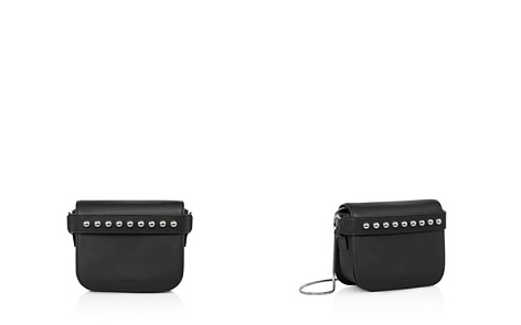 ALLSAINTS Suzi Leather Convertible Clutch - Bloomingdale's_2