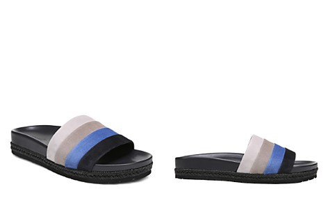 Vince Women's Alisa Color-Block Leather Pool Slide Sandals - Bloomingdale's_2