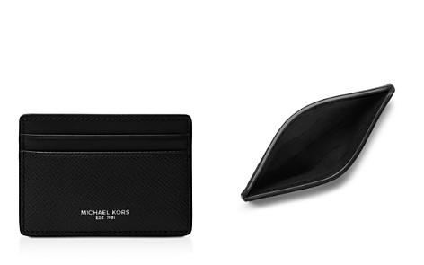 Michael Kors Harrison Cross Grain Leather Card Case - Bloomingdale's_2