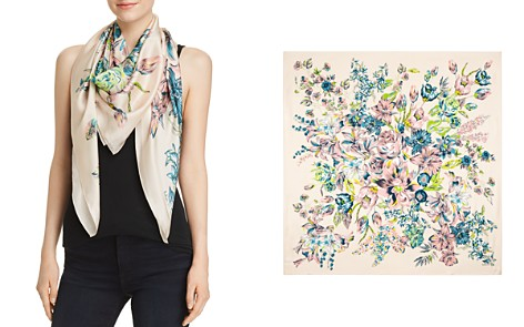 Echo Adelaide Floral Silk Square Scarf - Bloomingdale's_2