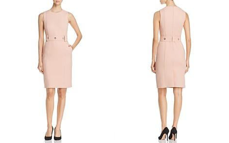 BOSS Duleama Grommet-Belt Sheath Dress - Bloomingdale's_2