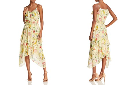 Parker Vanna Floral-Print Silk Midi Dress - Bloomingdale's_2