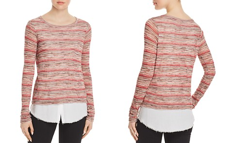 Bailey 44 Striped Layered-Look Sweater - Bloomingdale's_2