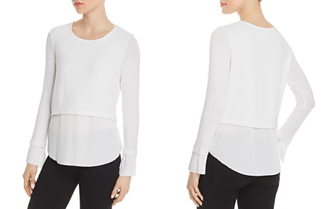 Generation Love Denise Layered-Look Pleated Top - Bloomingdale's_2