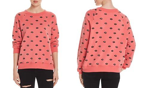 WILDFOX Lip Service Sweatshirt - Bloomingdale's_2