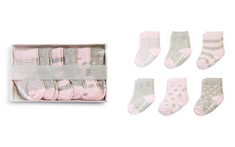 Elegant Baby Girls' Classic Pink Socks, 6 Pack - Baby - Bloomingdale's_2