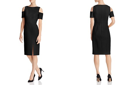 BOSS Denaka Cutout-Shoulder Sheath Dress - Bloomingdale's_2