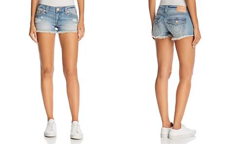 True Religion Joey Flap Cutoff Denim Shorts in Third Quarter - Bloomingdale's_2