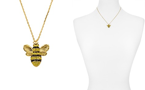 """kate spade new york Pavé Bee Pendant Necklace, 16"""" - Bloomingdale's_2"""