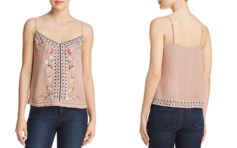 FRENCH CONNECTION Embroidered Cami - 100% Exclusive - Bloomingdale's_2
