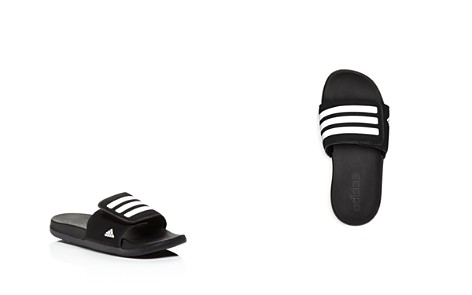 Adidas Unisex Adilette Cloudfoam Plus Slide Sandals - Toddler - Bloomingdale's_2