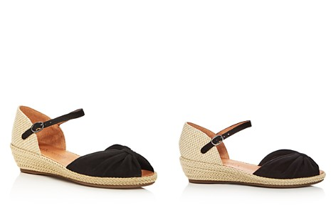 Gentle Souls Women's Lucille Suede Demi Wedge Espadrille Sandals - Bloomingdale's_2
