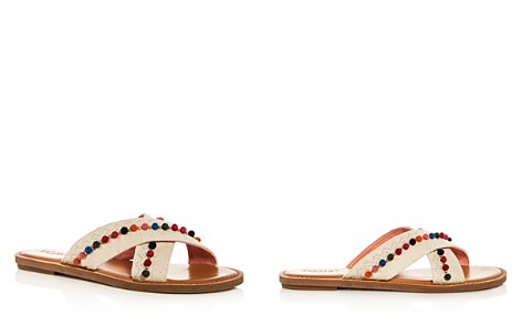 TOMS Women's Viv Hemp & Leather Crisscross Slide Sandals - Bloomingdale's_2