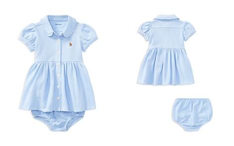 Ralph Lauren Girls' Oxford Dress & Bloomers Set - Baby - Bloomingdale's_2