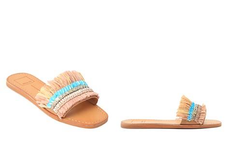 Dolce Vita Cadiz Embellished Raffia Slide Sandals - Bloomingdale's_2