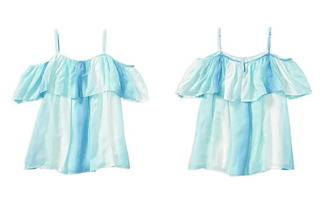 Polo Ralph Lauren Girls' Ruffled Cold-Shoulder Top - Big Kid - Bloomingdale's_2