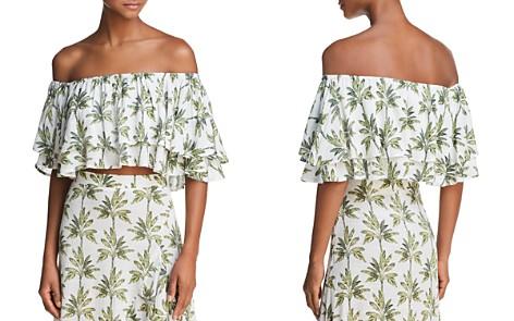 Show Me Your MuMu Hayworth Off-the-Shoulder Ruffled Crop Top - 100% Exclusive - Bloomingdale's_2