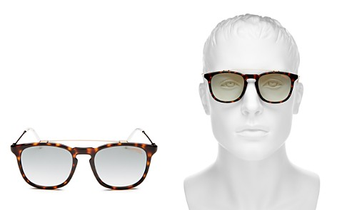 Carrera Brow Bar Square Sunglasses, 52mm - Bloomingdale's_2