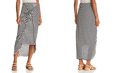 Splendid x Margherita Tie-Front Striped Sarong Skirt - Bloomingdale's_2