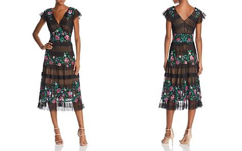 Tadashi Shoji Floral Embroidered Dress - Bloomingdale's_2