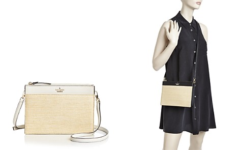kate spade new york Cameron Street Straw Clarise Crossbody - Bloomingdale's_2