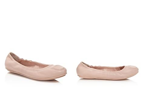 Salvatore Ferragamo Women's Leather Ballet Flats - Bloomingdale's_2
