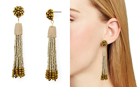 AQUA Metallic-Finish Cluster Tassel Drop Earrings - 100% Exclusive - Bloomingdale's_2